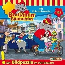 Die Fahrrad-Wette (Benjamin Blümchen 121)