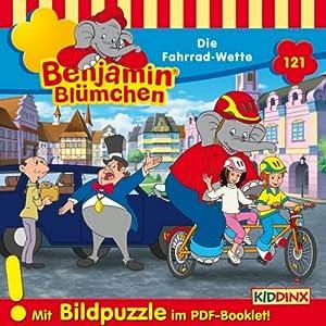 Die Fahrrad-Wette (Benjamin Blümchen 121) Hörspiel