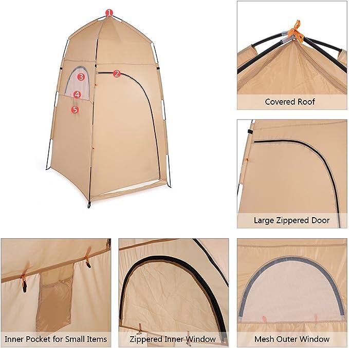 YOPEEN en Plein air Portable Simple Tente Camping Tente