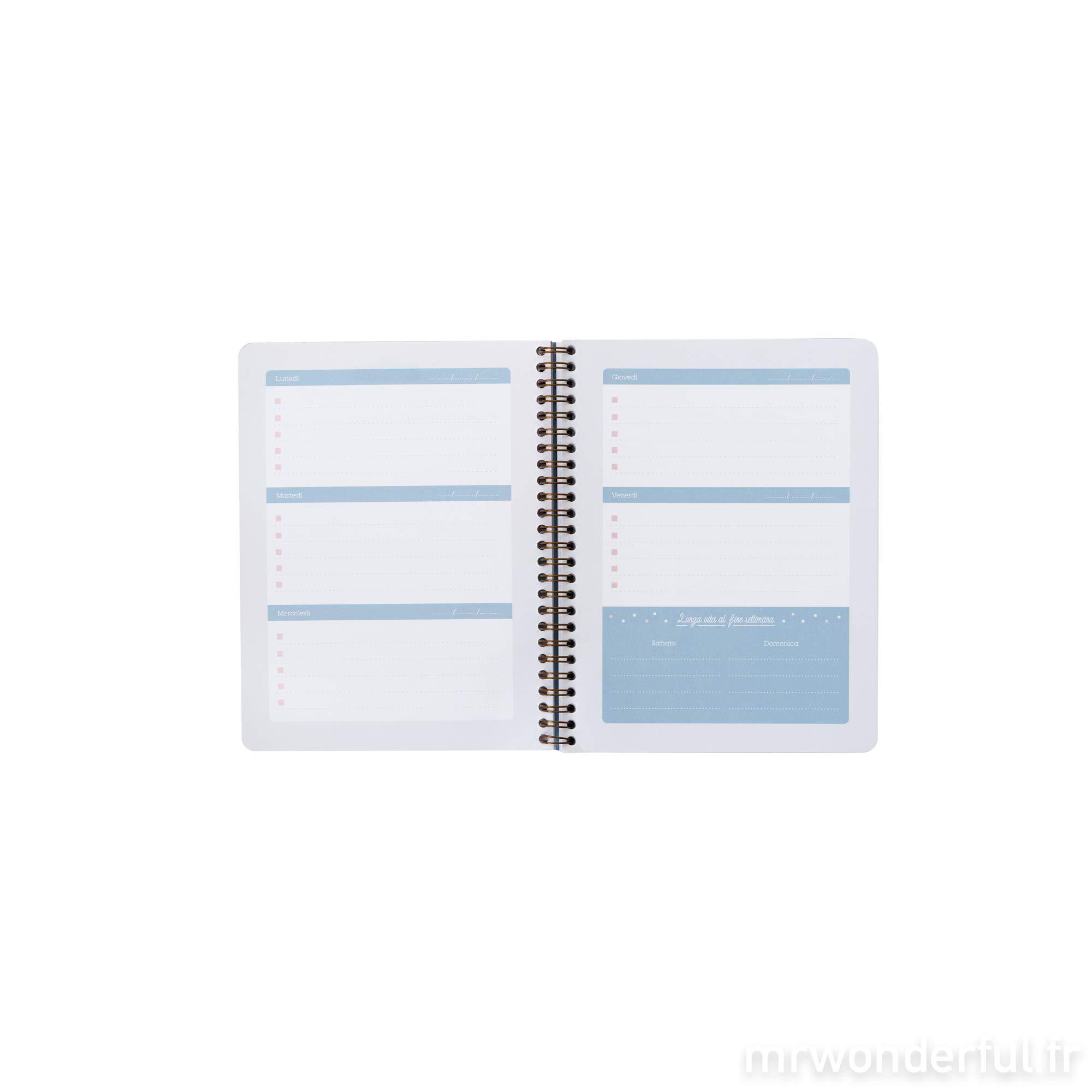 Mr. Wonderful WOA09056IT Weekly Planner Notebook by Mr. Wonderful (Image #3)