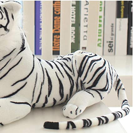 FUYUHAN Pastoreo de Dibujos Animados Tigre Blanco Muñeca de ...