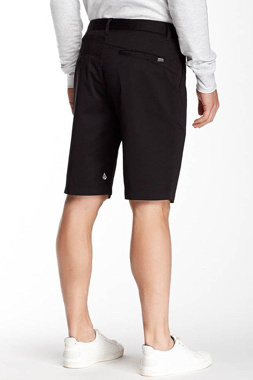 Volcom Mens Vmonty Modern Fit Short (34, Black)