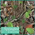 GREEN CAMOUFLAGE PATTERN #1 Craft Vinyl 3 sheets 6x6 Hunting Tree Camo for Vinyl Cutter from Springfed Printing