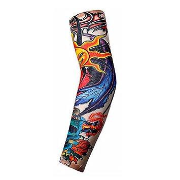 Amazon Com Fake Tattoo Arm Sleeve Tribal Design Temporary Tattoo