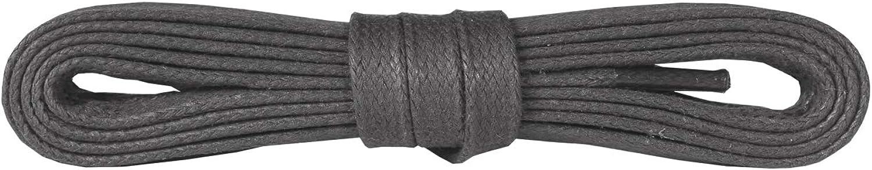 Fabriqu/és en Europe Kaps Lacets Color/és pour Chaussures 100/% Coton de Qualit/é Plats et Cir/és 5 mm de Large Plusieurs Longueurs et Couleurs Disponibles