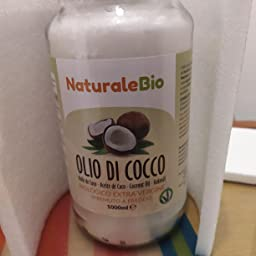 Aceite de coco extra virgen 1000 ml - Crudo y prensado en frío ...
