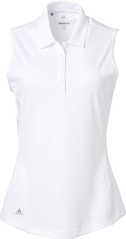 [アディダス] レディース シャツ adidas Women's Drive Sleeveless Golf Pol [並行輸入品]   B07PB1CSSS