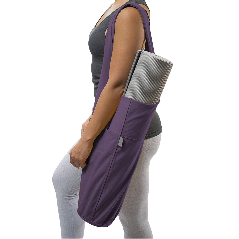 Grist CC Yoga Mat Bolsa, Yoga Mat Tote Sling Carrier con ...