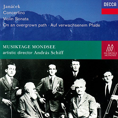 Janácek: Concertino; On An Overgrown Path; Violin Sonata (Path Sonata)