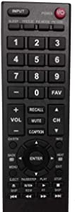 New CT-RC1US-16 TV Remote for Toshiba LED HDTV 28L110U 32L110U 32L220U 40L310U 43L310U 43L420U 49L310U 49L420U 55L310U 65L350U TV