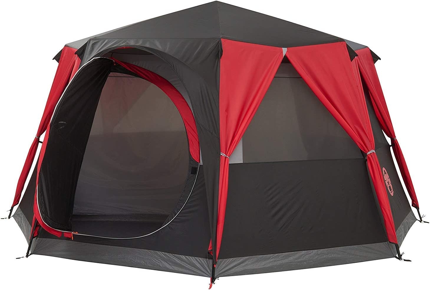 Coleman Tent Octagon 6 to 8 man Festival tent large Dome Tent with full  sc 1 st  Amazon UK : tents ebay uk - afamca.org