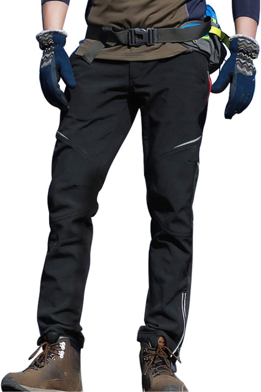 JOGVELO Pantalon Cycliste Homme Pantalon de Sport Homme Thermique pour Hiver