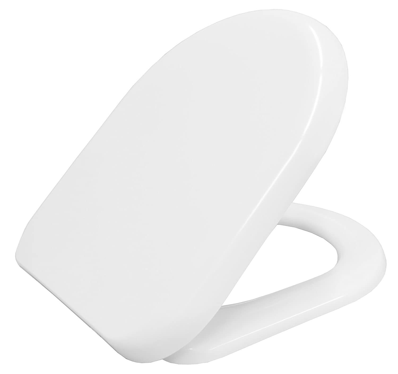 Short d shaped toilet seat long neck grinder