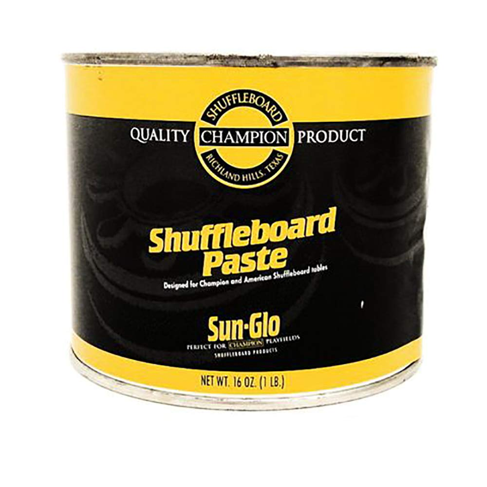Sun-Glo Shuffleboard Paste Polish Wax Sold Per EACH by Sun-Glo