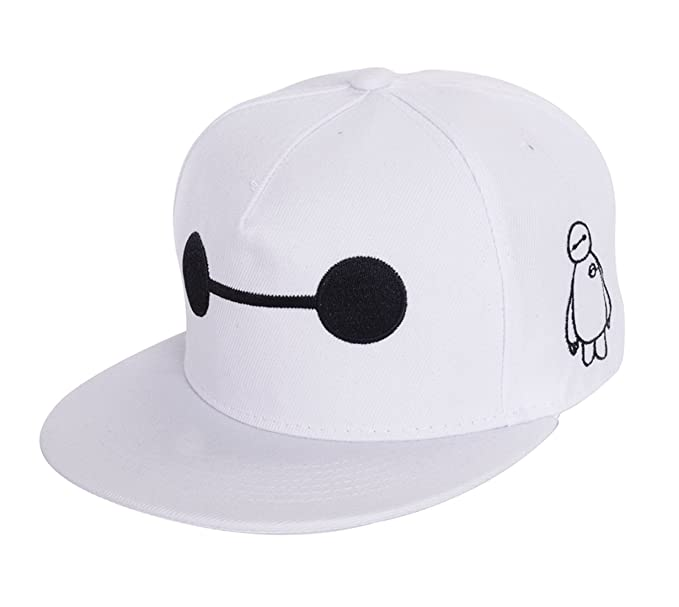 795a8760836 Image Unavailable. Image not available for. Color  REINDEAR Movie Big Hero 6  White Baymax Hat ...
