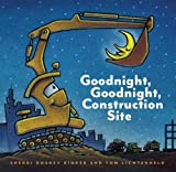 The #1 New York Times bestsellerAs the sun sets behind the big construction site, all the hardworking trucks get ready to say goodnight. One by one, Crane Truck, Cement Mixer, Dump Truck, Bulldozer, and Excavator finish their work and lie down to res...