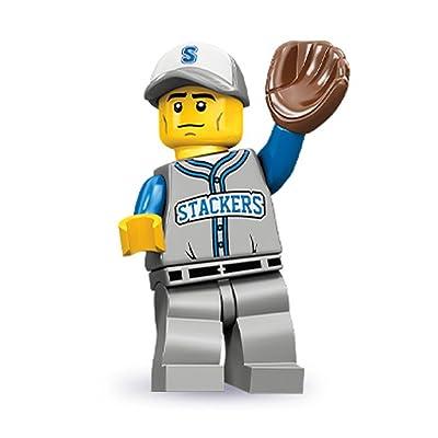 Lego Series 10 Baseball Fielder Mini Figure: Toys & Games [5Bkhe0802245]