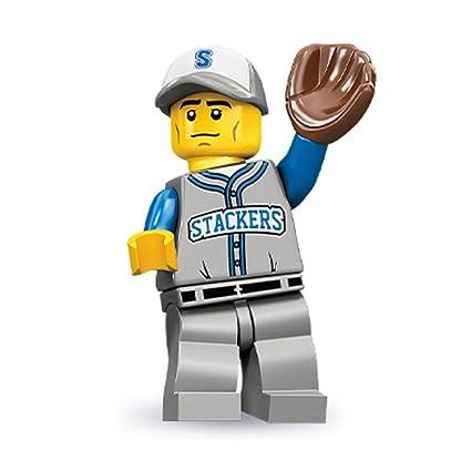 Amazon.com: Lego Series 10 Baseball Fielder Mini Figure: Toys & Games