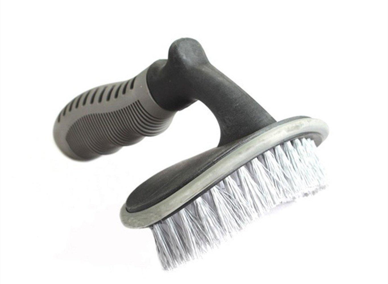 Katech neumá tico de coche rueda cepillo de limpieza Scrubber Cepillos Mango Ergonó mico Llanta Borde Cepillo de lavado
