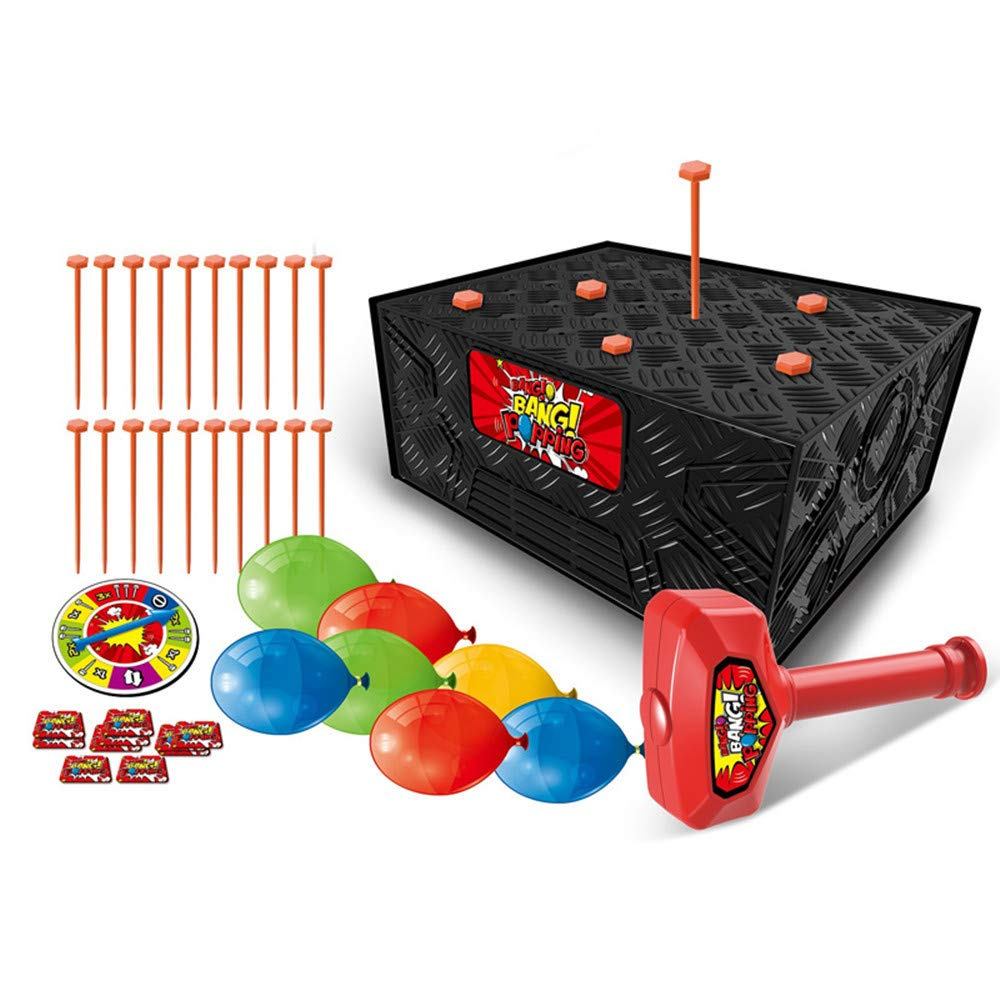 Blast Box Action Game Balloon Blasting Family Party Fun Kids Toy ALIKEEY Educational Toys for Kids