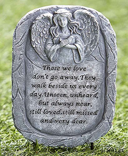 - Angel Memorial Stake Plaque Garden Remembrance Grave Marker