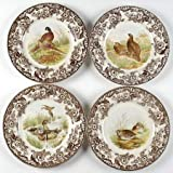 Spode Woodland 10.5'' Dinner plates Set of 4