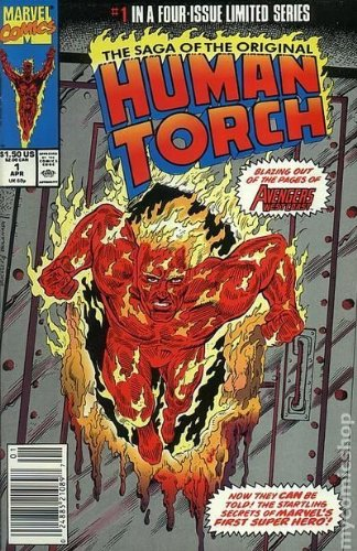 The Sage Of the Original Human Torch, No. 1, April 1990, The Lighted Torch