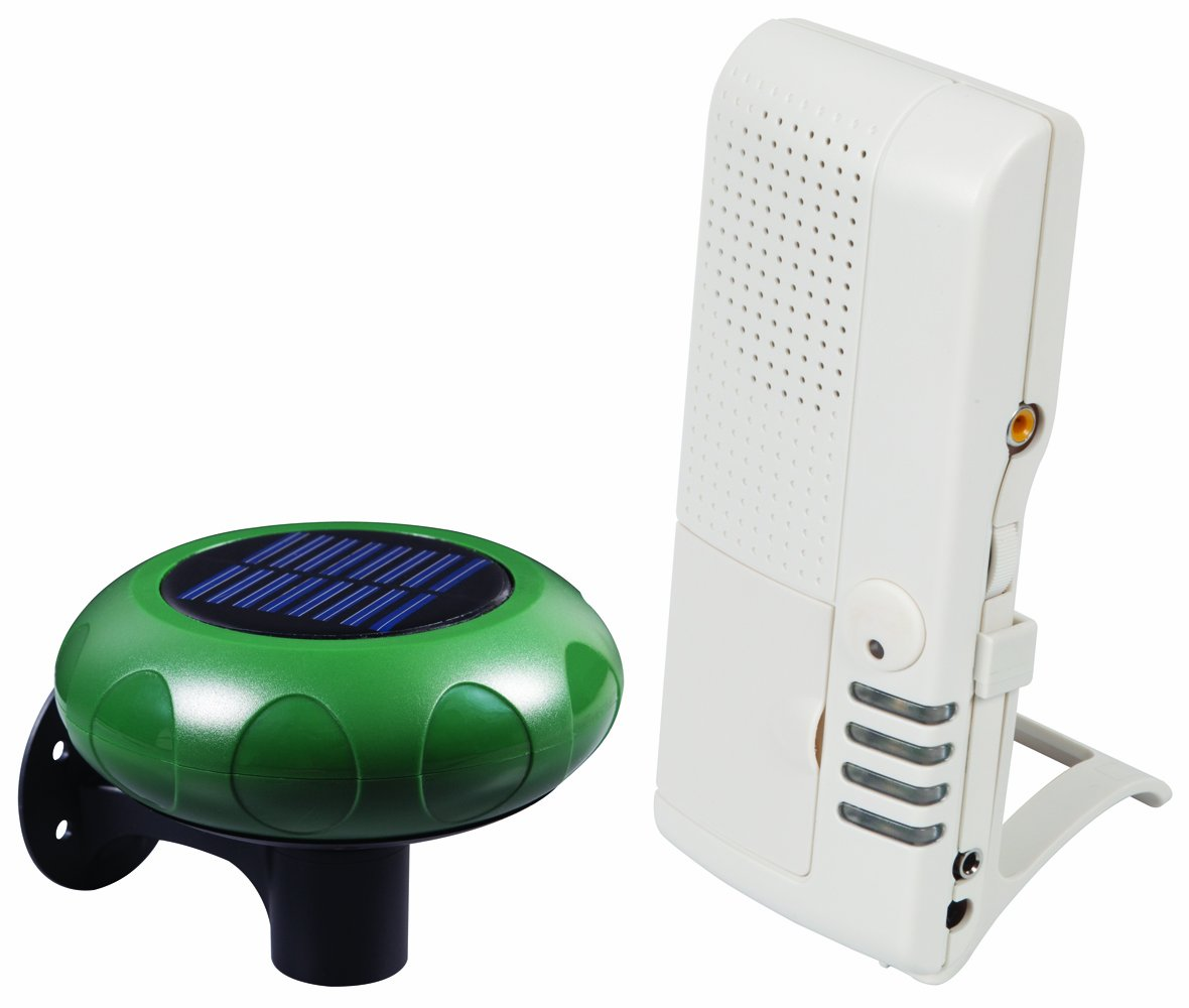 Safety Technology International, Inc.STI-V34100 Wireless Solar Powered Driveway Monitor with  Voice Receiver by Safety Technology International, Inc.
