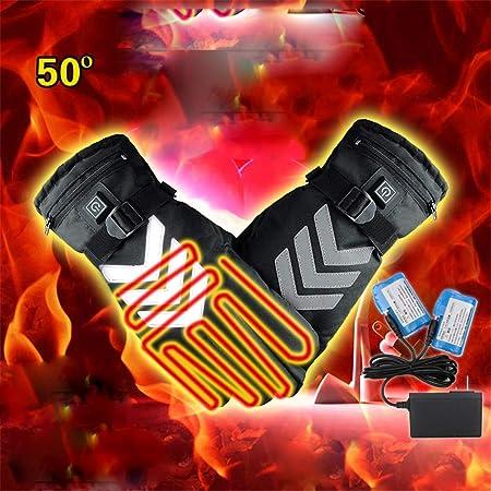 Guantes calientes del invierno con calefacción Los guantes con ...