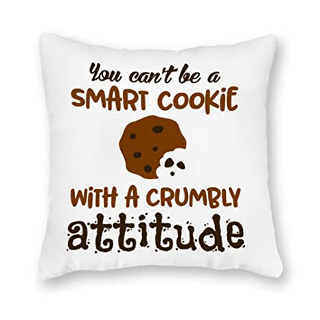 Decorativo Inteligente Cookie Square Throw Pillow Cover ...
