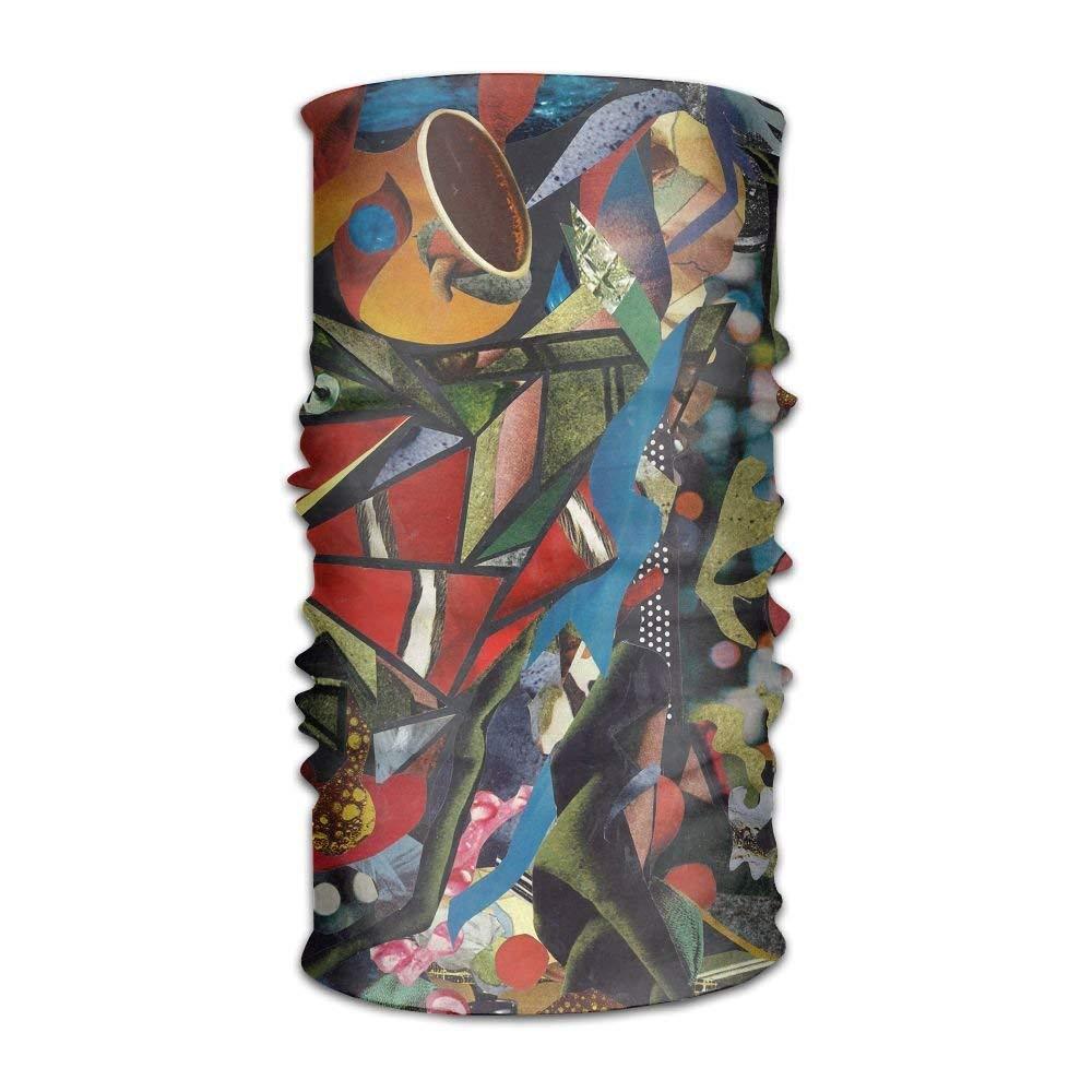 Nifdhkw Headwear Multifunctional Sweatband Trippy Acid Collage ...