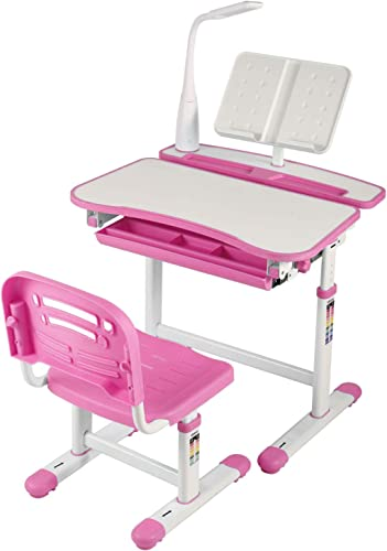 BWITHU Kids Functional Desk and Chair Set