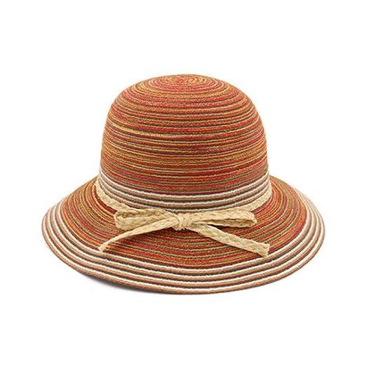 KFEK Cúpula de Mariposa Tejida de algodón y Lino, Sombrero ...