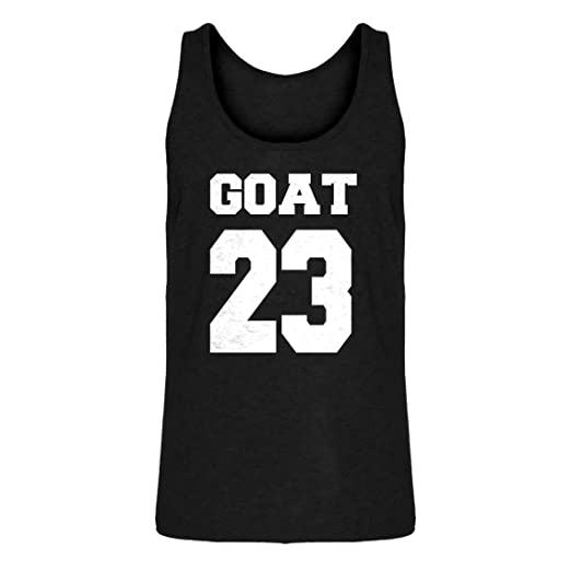 finest selection f9b40 0240a Amazon.com: Indica Plateau Mens Goat 23 Jersey Tank Top ...