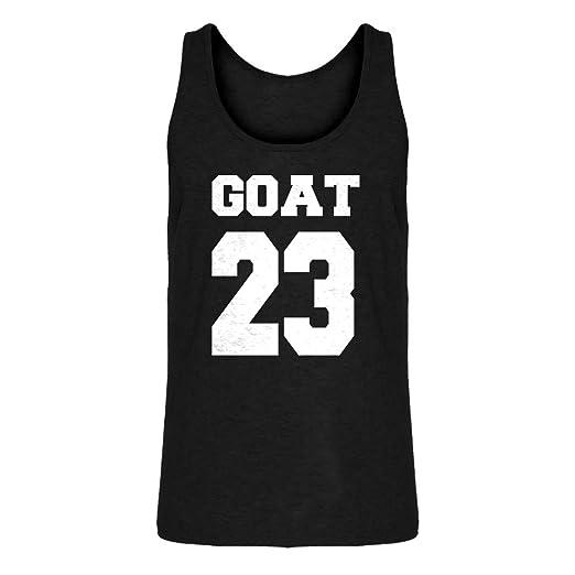 finest selection 002ba 7debb Amazon.com: Indica Plateau Mens Goat 23 Jersey Tank Top ...