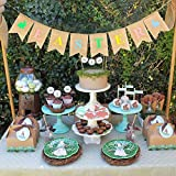 Denzar Happy Easter Home Garden Flag Vertical Spring Summer Yard Outdoor Decorative,Party Decoration Linen Pennant Bunting Banner Rabbit Easter String Flag (A)