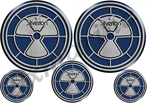 - Two Silverton OEM Decals/Stickers - Replica of the original (not OEM)