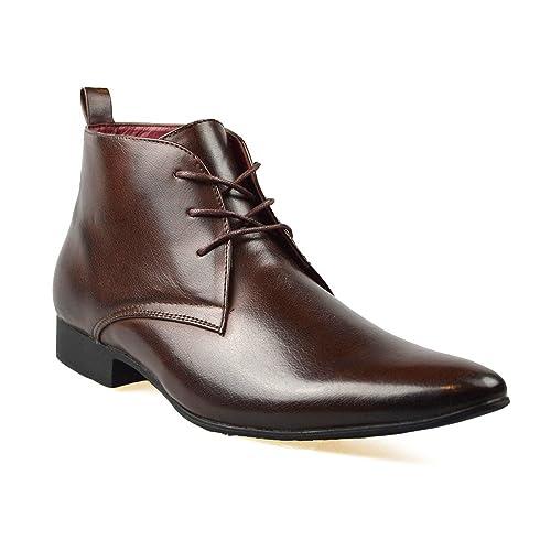 US Brass Zapato Negro Para los Hombres Talla 8 UK/42 EU - Negro 4uOECzacPT