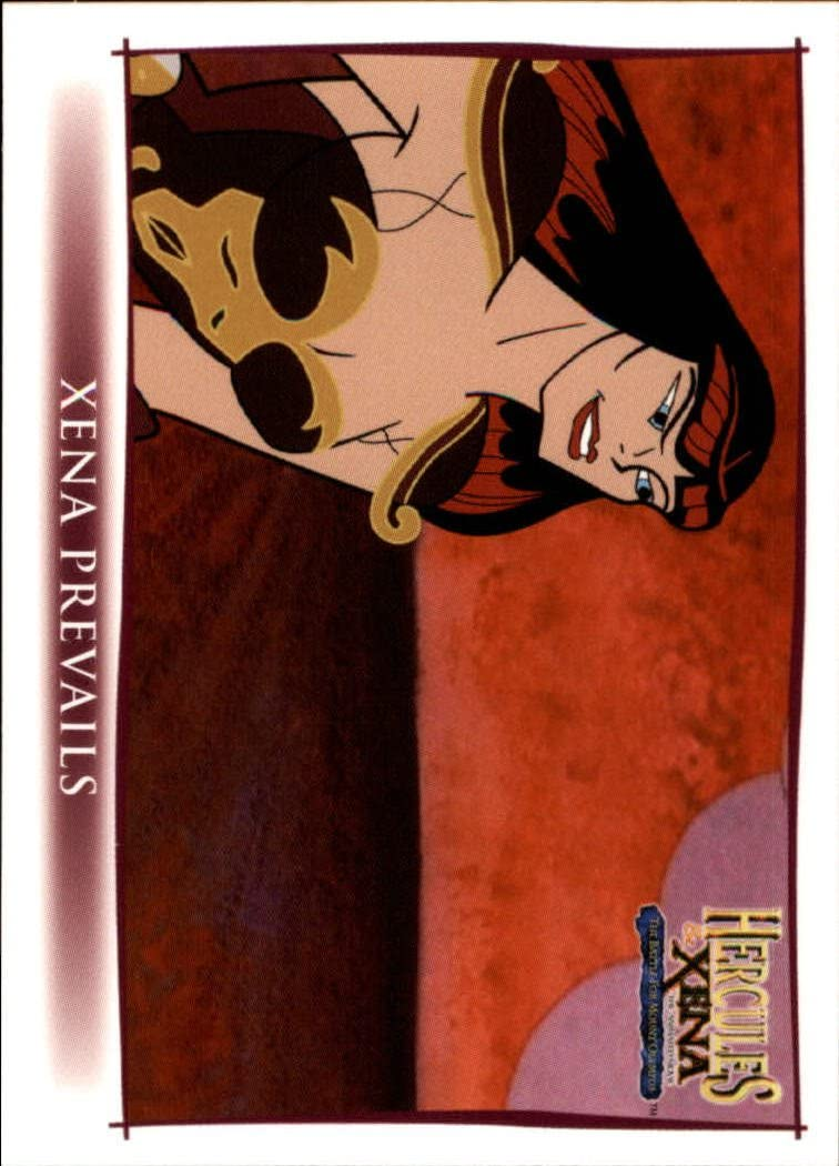 Xena And Hercules Animated US Trading Card Box 2005
