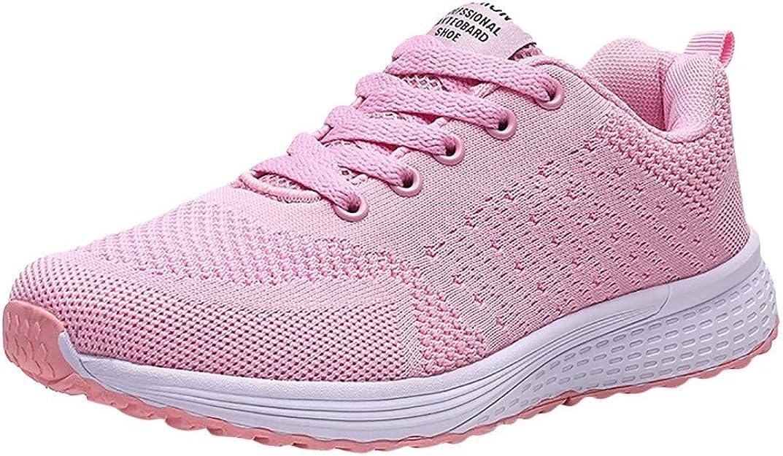 NISOWE Flying Weaving, Zapatillas de Deporte, Zapatillas de Deporte para Etudientes, Running, Deporte Competición Trail, Rosa (Rosa), 41 EU: Amazon.es: Zapatos y complementos