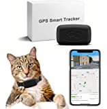 LMHOME pet GPS Tracker, tractiva GPS Tracker for Dogs/Cats - Lightweight and Waterproof Tracking Transmitter with…