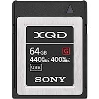Sony Professional XQD G series 64GB Memory Card (QD-G64F/J) Black Small