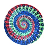 AOYOMO Round Chiffon Towel Meditation Tapestry Beach Throw Wall Hanging #F