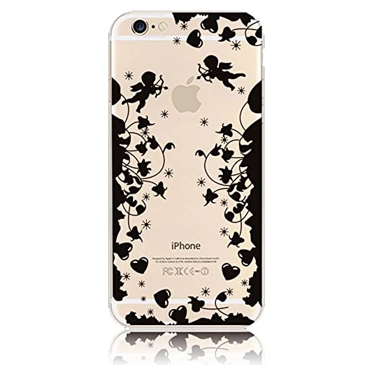 "113 opinioni per iPhone 6/6S 4.7"" Custodia, Sunroyal® [Antigraffio] [Protezione goccia] TPU Gel"