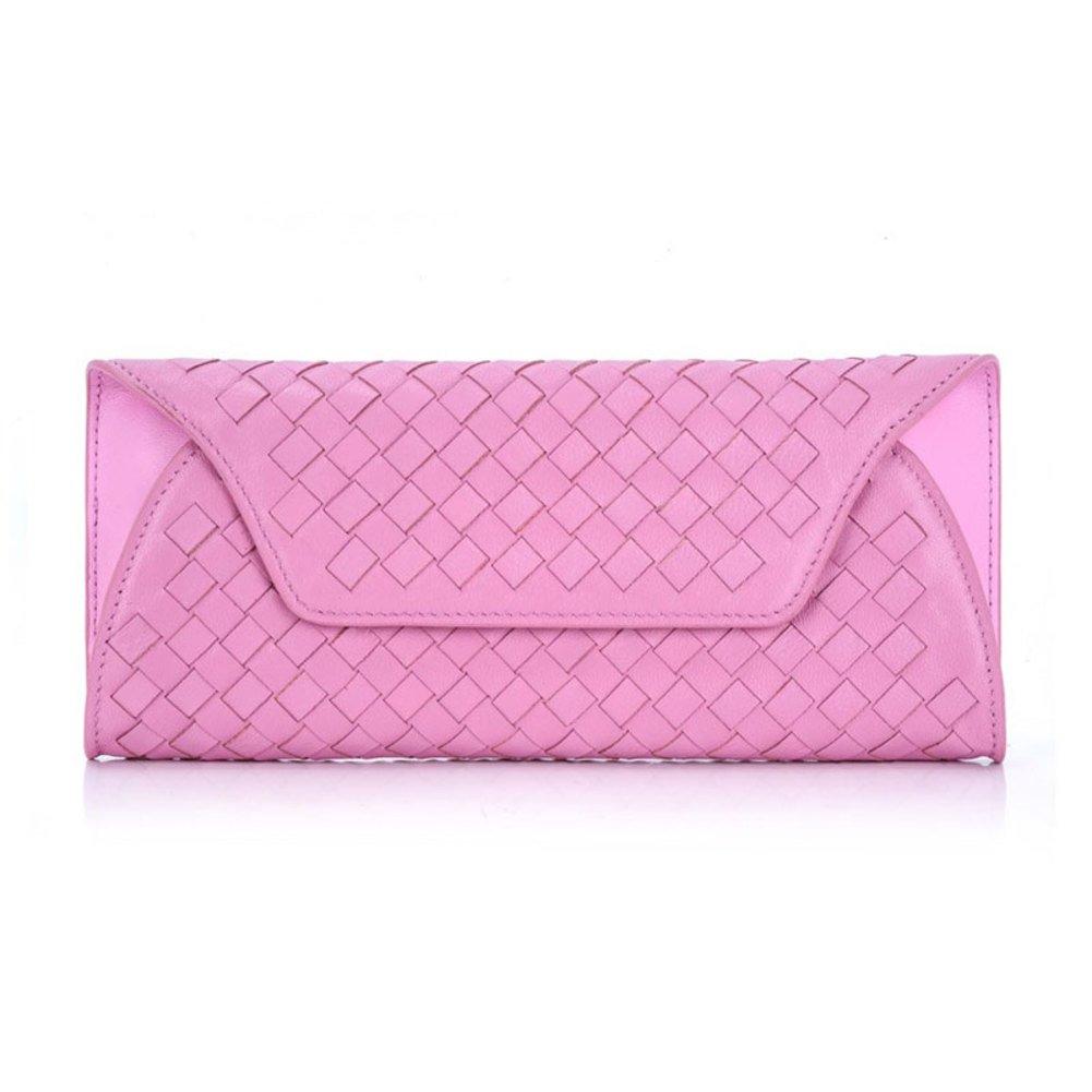 ladies Sheepskin knit purse/European fashion around wallet envelope wallet/Clutch bag-B