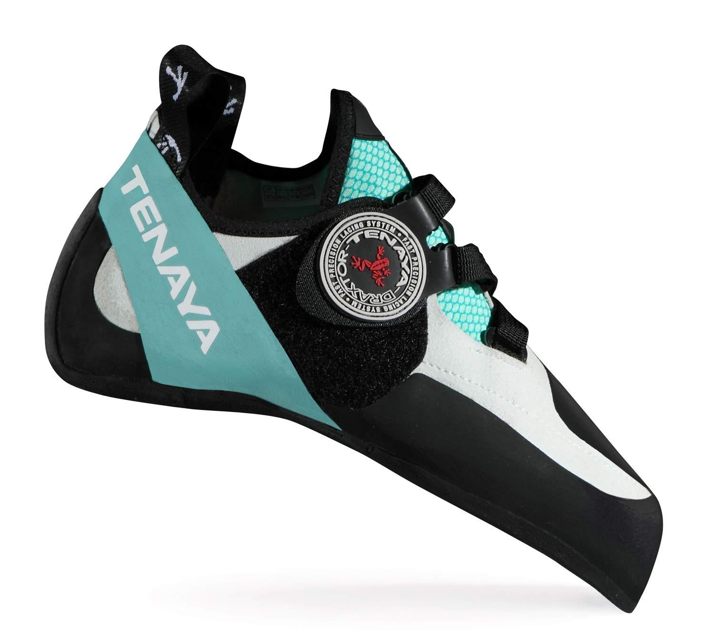 Tenaya Oasi LV Rock Climbing Shoe, 8.5 Men's / 9.5 Women's Turquoise by Tenaya