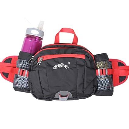Men/'s Nylon Fanny Pack Waist Bag Travel Money Phone Storage Pocket Multifunction