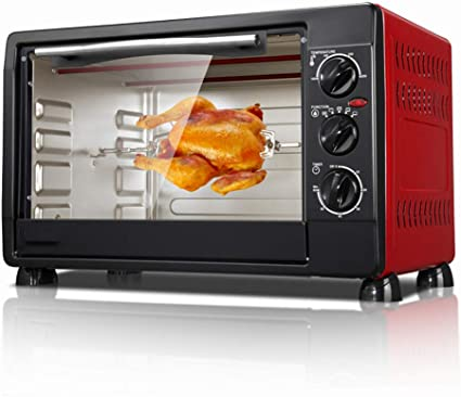 Oven 30l Toaster Fully Automatic Mini Baking 60 Minutes Timing 0 250 C Temperature Control Pizza Can Be Baked Amazon Co Uk Kitchen Home