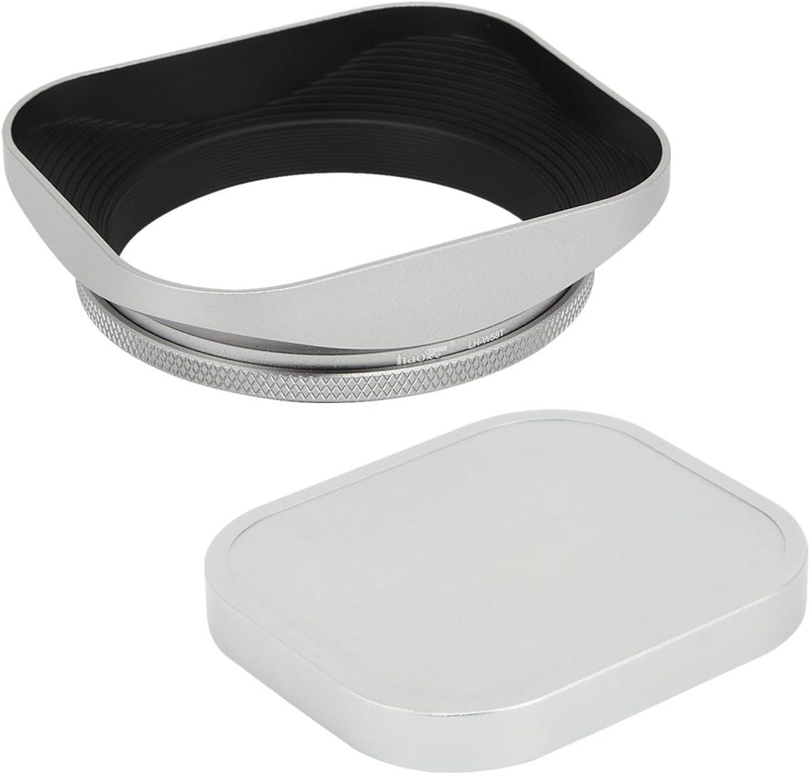 Phot-R/® 58mm Vis-en Grand-Angle M/étal Lens Hood