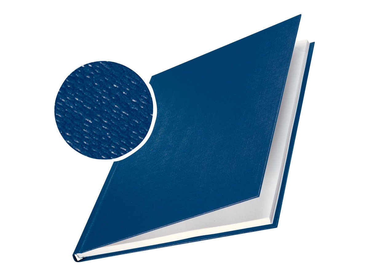 LEITZ Buchbindemappe impressBind, A4, 10,5 10,5 10,5 mm, blau, Hard VE = 1 B01JAV0TTG | Sehr gute Farbe  68f811